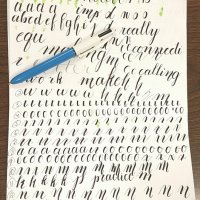Calligraphy and Faux Calligraphy